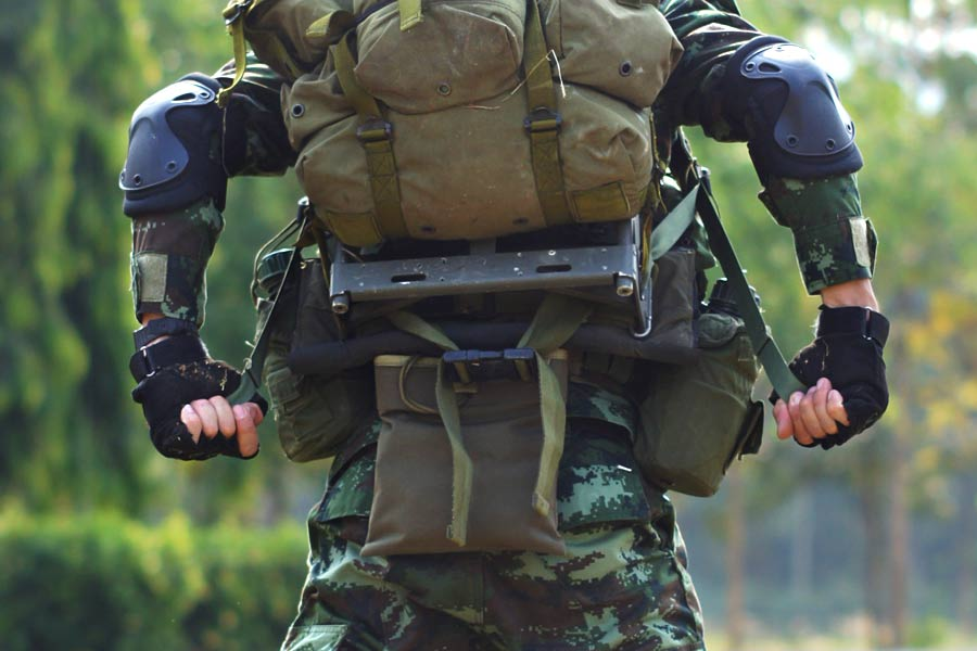 Army - Preventing overburdening of soldiers with IoT
